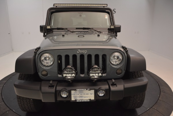 Used 2014 Jeep Wrangler Unlimited Sport for sale Sold at Maserati of Westport in Westport CT 06880 28
