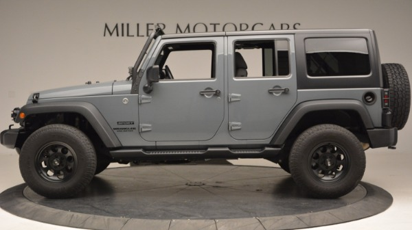 Used 2014 Jeep Wrangler Unlimited Sport for sale Sold at Maserati of Westport in Westport CT 06880 3