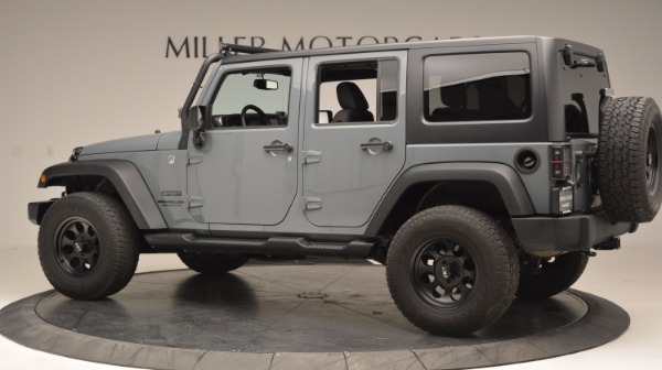 Used 2014 Jeep Wrangler Unlimited Sport for sale Sold at Maserati of Westport in Westport CT 06880 4