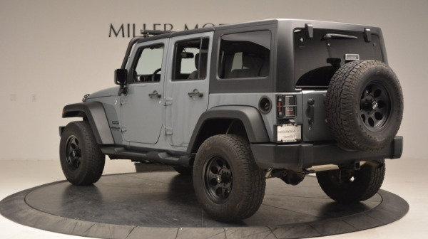 Used 2014 Jeep Wrangler Unlimited Sport for sale Sold at Maserati of Westport in Westport CT 06880 5