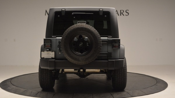 Used 2014 Jeep Wrangler Unlimited Sport for sale Sold at Maserati of Westport in Westport CT 06880 7