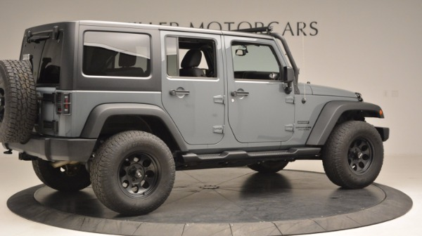 Used 2014 Jeep Wrangler Unlimited Sport for sale Sold at Maserati of Westport in Westport CT 06880 9
