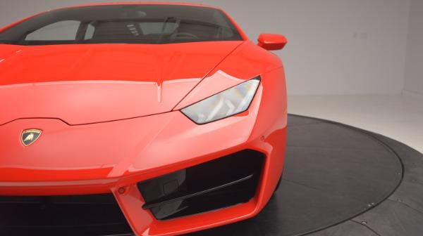 Used 2016 Lamborghini Huracan LP 580-2 for sale Sold at Maserati of Westport in Westport CT 06880 15