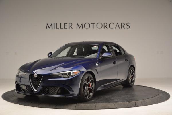 New 2017 Alfa Romeo Giulia Quadrifoglio for sale Sold at Maserati of Westport in Westport CT 06880 1