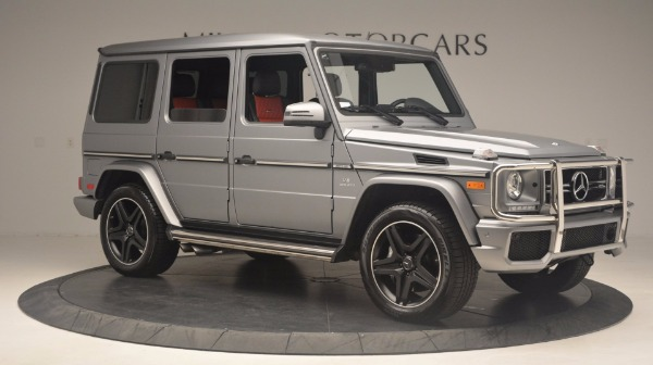 Used 2016 Mercedes Benz G-Class G 63 AMG for sale Sold at Maserati of Westport in Westport CT 06880 10