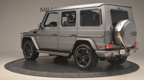 Used 2016 Mercedes Benz G-Class G 63 AMG for sale Sold at Maserati of Westport in Westport CT 06880 4