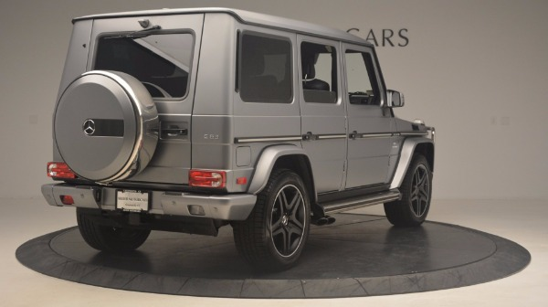 Used 2016 Mercedes Benz G-Class G 63 AMG for sale Sold at Maserati of Westport in Westport CT 06880 7