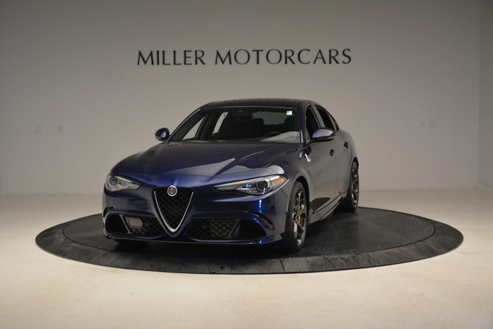 Used 2017 Alfa Romeo Giulia Quadrifoglio for sale Sold at Maserati of Westport in Westport CT 06880 1