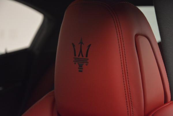 New 2017 Maserati Ghibli SQ4 for sale Sold at Maserati of Westport in Westport CT 06880 21