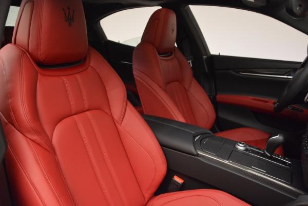 New 2017 Maserati Ghibli SQ4 for sale Sold at Maserati of Westport in Westport CT 06880 28