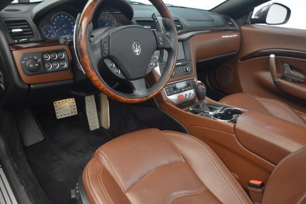 Used 2012 Maserati GranTurismo Sport for sale Sold at Maserati of Westport in Westport CT 06880 21