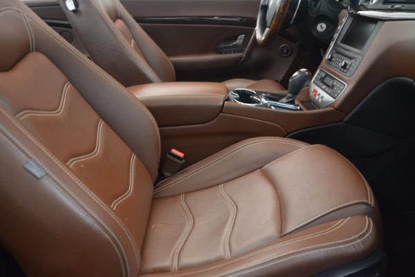 Used 2012 Maserati GranTurismo Sport for sale Sold at Maserati of Westport in Westport CT 06880 28