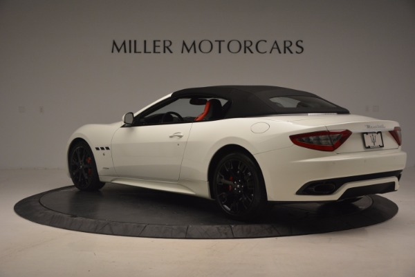 Used 2016 Maserati GranTurismo Sport for sale Sold at Maserati of Westport in Westport CT 06880 17