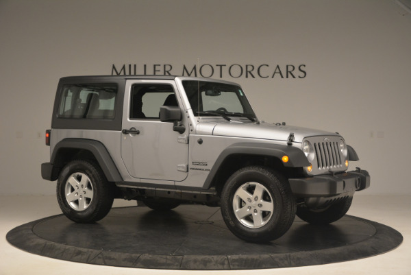 Used 2015 Jeep Wrangler Sport for sale Sold at Maserati of Westport in Westport CT 06880 10