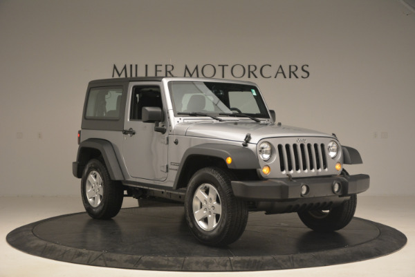 Used 2015 Jeep Wrangler Sport for sale Sold at Maserati of Westport in Westport CT 06880 11