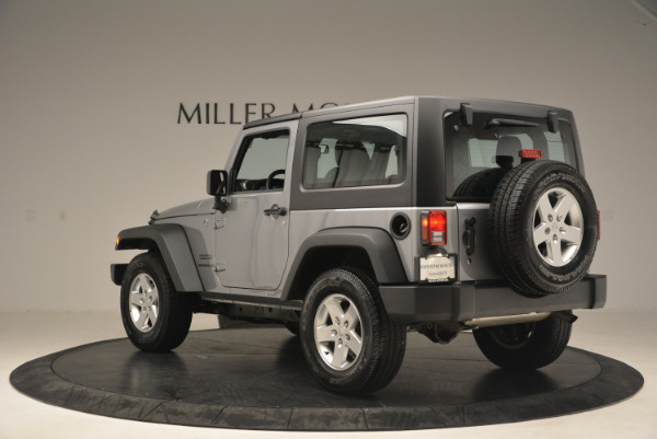 Used 2015 Jeep Wrangler Sport for sale Sold at Maserati of Westport in Westport CT 06880 5