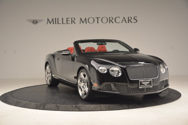 Used 2012 Bentley Continental GT W12 Convertible for sale Sold at Maserati of Westport in Westport CT 06880 11