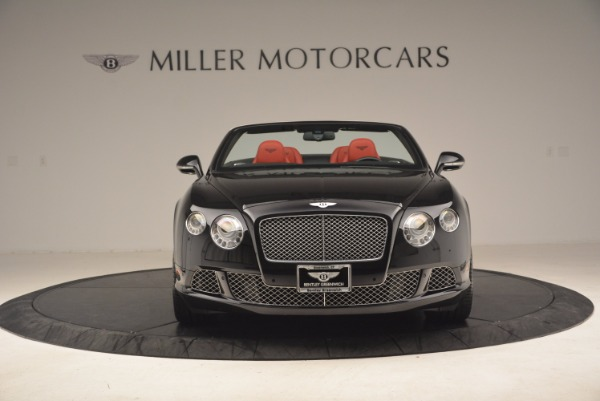 Used 2012 Bentley Continental GT W12 Convertible for sale Sold at Maserati of Westport in Westport CT 06880 12