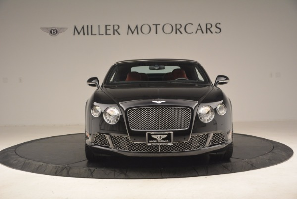 Used 2012 Bentley Continental GT W12 Convertible for sale Sold at Maserati of Westport in Westport CT 06880 13