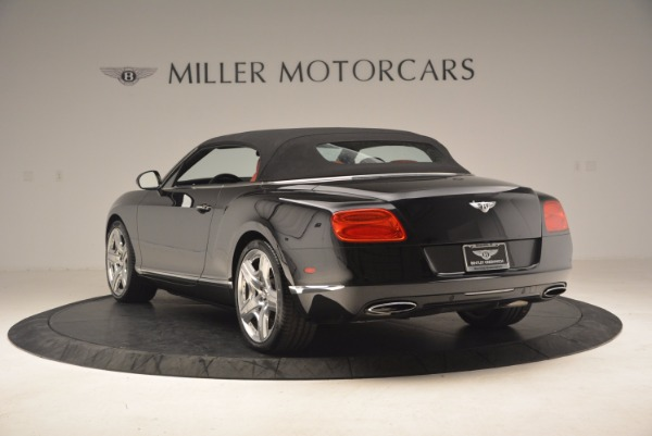 Used 2012 Bentley Continental GT W12 Convertible for sale Sold at Maserati of Westport in Westport CT 06880 18
