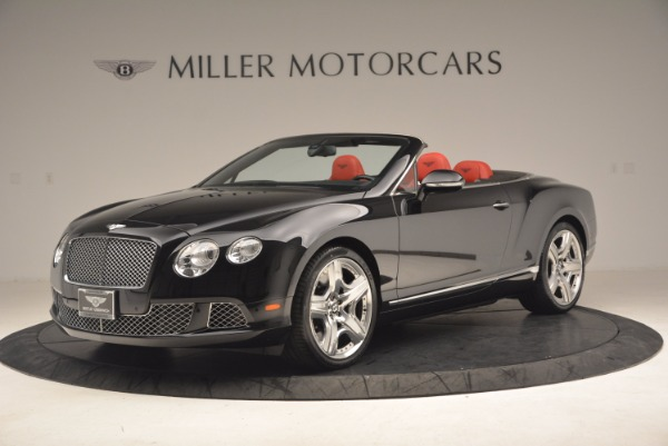 Used 2012 Bentley Continental GT W12 Convertible for sale Sold at Maserati of Westport in Westport CT 06880 2