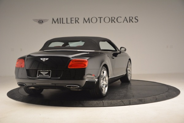 Used 2012 Bentley Continental GT W12 Convertible for sale Sold at Maserati of Westport in Westport CT 06880 20
