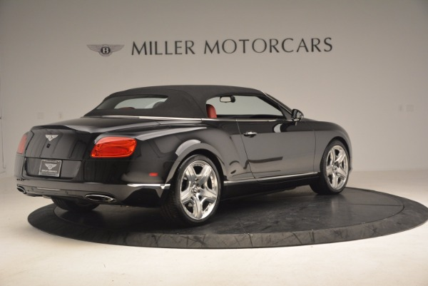 Used 2012 Bentley Continental GT W12 Convertible for sale Sold at Maserati of Westport in Westport CT 06880 21