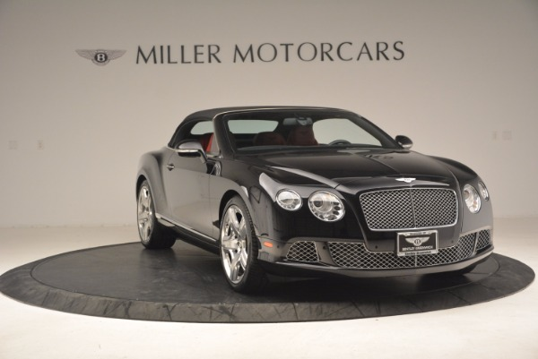 Used 2012 Bentley Continental GT W12 Convertible for sale Sold at Maserati of Westport in Westport CT 06880 24
