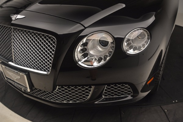 Used 2012 Bentley Continental GT W12 Convertible for sale Sold at Maserati of Westport in Westport CT 06880 27