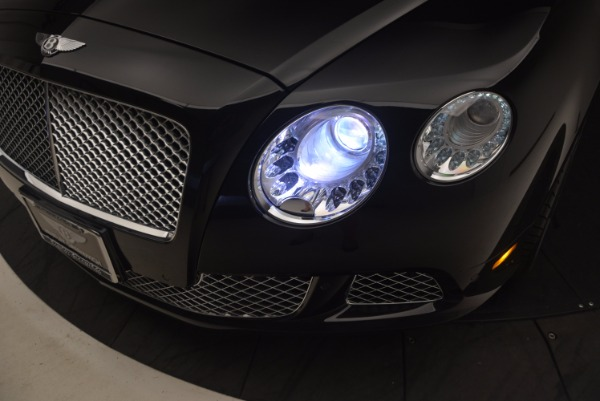 Used 2012 Bentley Continental GT W12 Convertible for sale Sold at Maserati of Westport in Westport CT 06880 28