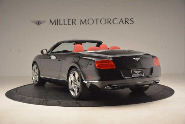 Used 2012 Bentley Continental GT W12 Convertible for sale Sold at Maserati of Westport in Westport CT 06880 5