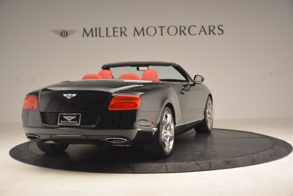 Used 2012 Bentley Continental GT W12 Convertible for sale Sold at Maserati of Westport in Westport CT 06880 7