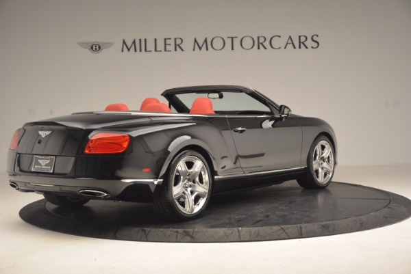 Used 2012 Bentley Continental GT W12 Convertible for sale Sold at Maserati of Westport in Westport CT 06880 8