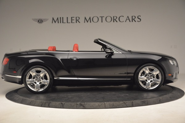 Used 2012 Bentley Continental GT W12 Convertible for sale Sold at Maserati of Westport in Westport CT 06880 9