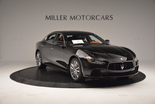 New 2017 Maserati Ghibli S Q4 EX-LOANER for sale Sold at Maserati of Westport in Westport CT 06880 11