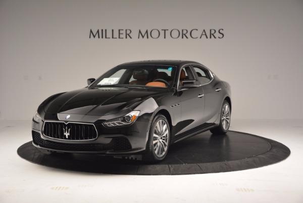 New 2017 Maserati Ghibli S Q4 EX-LOANER for sale Sold at Maserati of Westport in Westport CT 06880 1