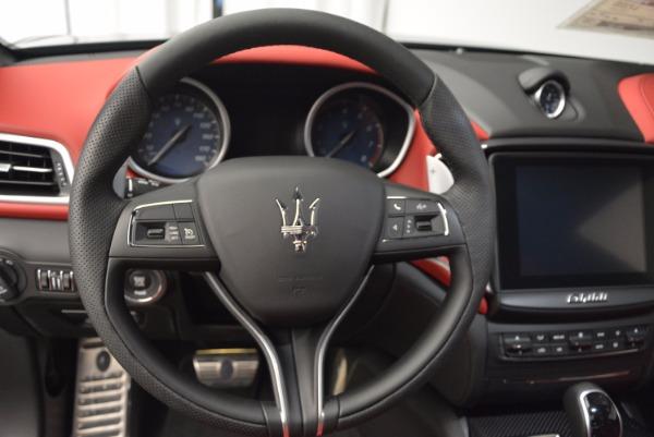 Used 2017 Maserati Ghibli S Q4 for sale Sold at Maserati of Westport in Westport CT 06880 12