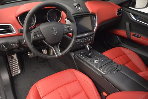 Used 2017 Maserati Ghibli S Q4 for sale Sold at Maserati of Westport in Westport CT 06880 13