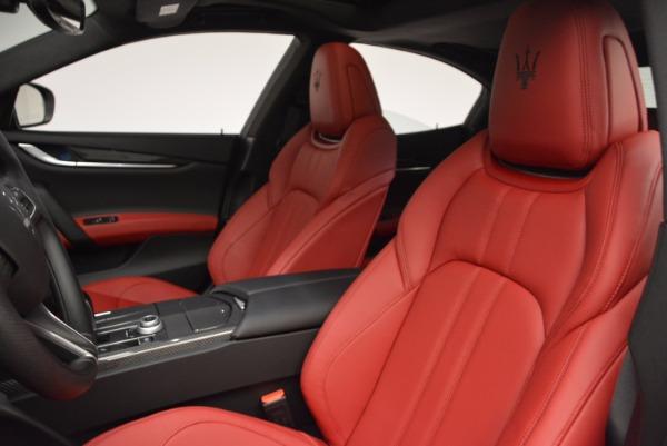 Used 2017 Maserati Ghibli S Q4 for sale Sold at Maserati of Westport in Westport CT 06880 16