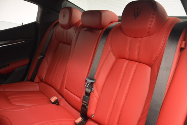 Used 2017 Maserati Ghibli S Q4 for sale Sold at Maserati of Westport in Westport CT 06880 24