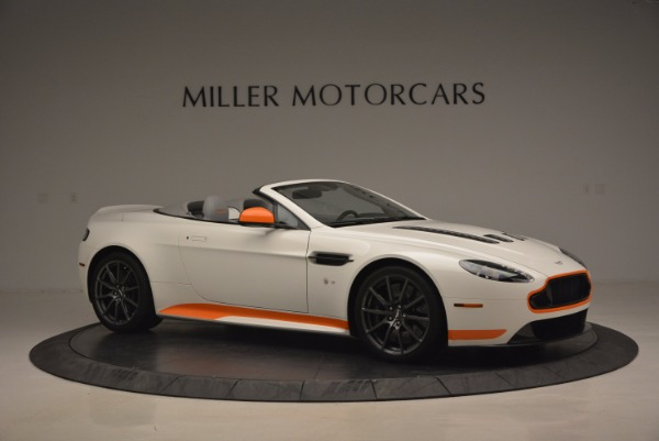 Used 2017 Aston Martin V12 Vantage S Convertible for sale Sold at Maserati of Westport in Westport CT 06880 10