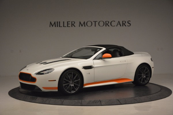 Used 2017 Aston Martin V12 Vantage S Convertible for sale Sold at Maserati of Westport in Westport CT 06880 14