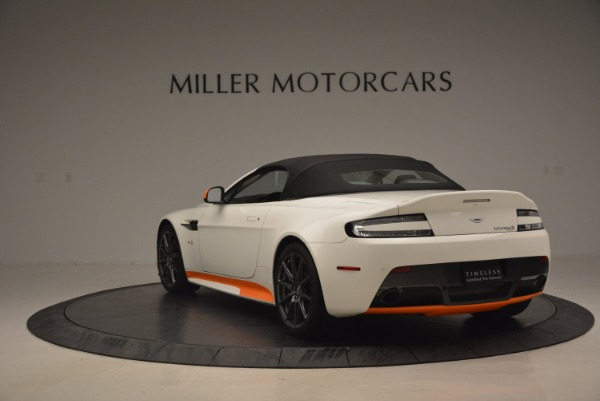 Used 2017 Aston Martin V12 Vantage S Convertible for sale Sold at Maserati of Westport in Westport CT 06880 17