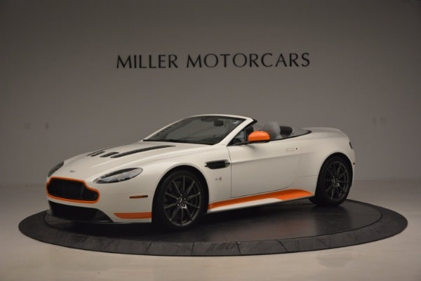 Used 2017 Aston Martin V12 Vantage S Convertible for sale Sold at Maserati of Westport in Westport CT 06880 1