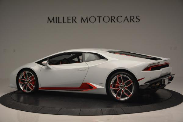 Used 2015 Lamborghini Huracan LP610-4 for sale Sold at Maserati of Westport in Westport CT 06880 4