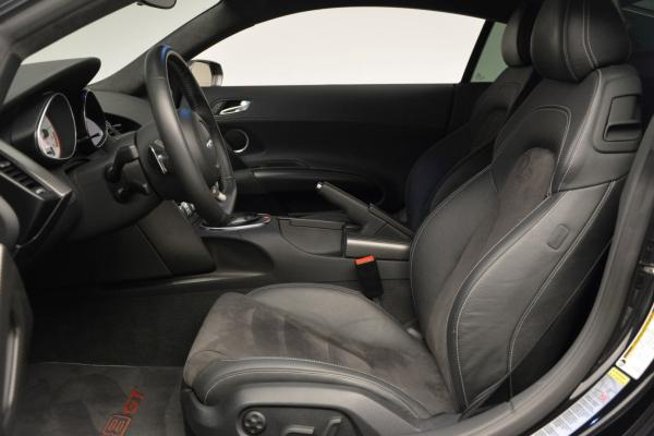 Used 2012 Audi R8 GT (R tronic) for sale Sold at Maserati of Westport in Westport CT 06880 14