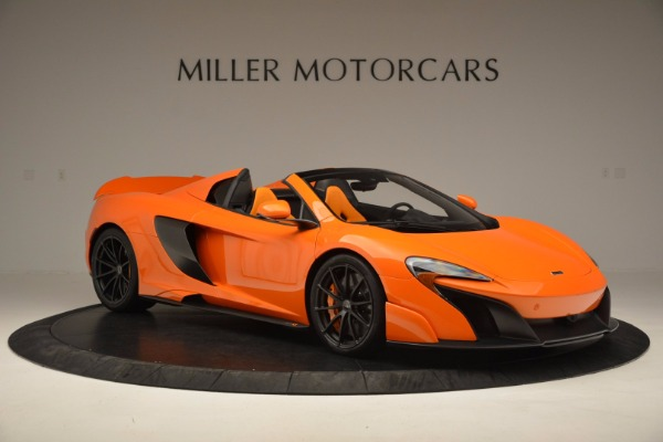 Used 2016 McLaren 675LT Spider Convertible for sale Sold at Maserati of Westport in Westport CT 06880 10
