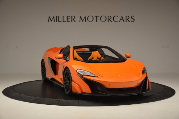 Used 2016 McLaren 675LT Spider Convertible for sale Sold at Maserati of Westport in Westport CT 06880 11
