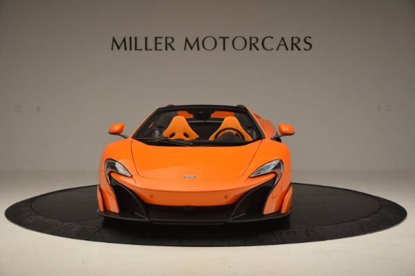 Used 2016 McLaren 675LT Spider Convertible for sale Sold at Maserati of Westport in Westport CT 06880 12