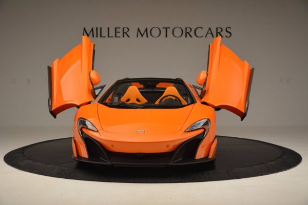 Used 2016 McLaren 675LT Spider Convertible for sale Sold at Maserati of Westport in Westport CT 06880 13